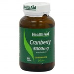 Health aid cranberry extract 5000mg 60tabs - allpharmacy overespa