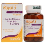 Health aid royal-3 royal jelly 30caps - allpharmacy overespa