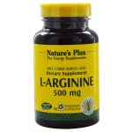 Nature`s plus l-arginine 500 mg vcaps 90 -allpharmacy overespa