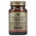 Solgar chelated copper 2,5mg tabs 100s -allpharmacy overespa