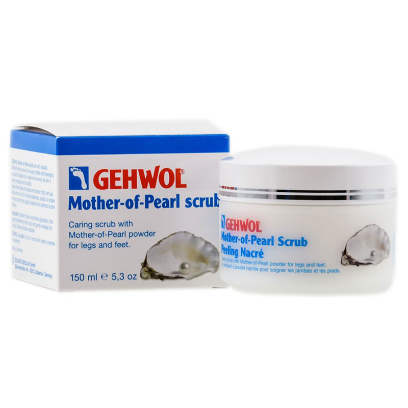 Gehwol Mother Of Pearl Scrub 125ml -allpharmacy overespa