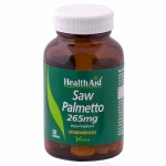 health aid Saw Palmetto Berry Extract 30caps Κάψουλες για τη σωστή λειτουργία του προστάτη Allpharmacy Overespa