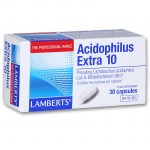 Lamberts Acidophilus Extra 10 30 caps Προβιοτικό για διαταραχή της ισορροπίας της εντερικής χλωρίδα Allpharmacy Overespa