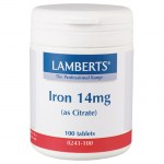 Lamberts Iron Σίδηρος, 14mg 100tabs Allpharmacy Overespa