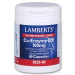 Lamberts Co-enzyme Q10 Συμπληρώματα, 100mg 60caps Allpharmacy - Overespa