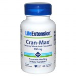 Life extension cran-max cranberry extract 500mg 60 -allpharmacy overespa
