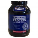 Maxim whey protein strawberry pure 750 gr -allpharmacy overespa
