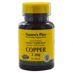Nature`s plus copper 3 mg tablets 90 -allpharmacy overespa