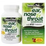 Nature`s plus ear nose & throat lozenges 60 -allpharmacy overespa