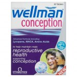 Vitabiotics wellman conception 30tabs -allpharmacy overespa