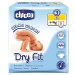 chicco πάνες dry fit newborn no3 midi για παιδιά 4-9 kg -allpharmacy overespa