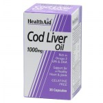 health aid cod liver oil 1000mg 30caps Συμπληρώματα διατροφής κατά της αρθρίτιδας - allpharmacy overespa